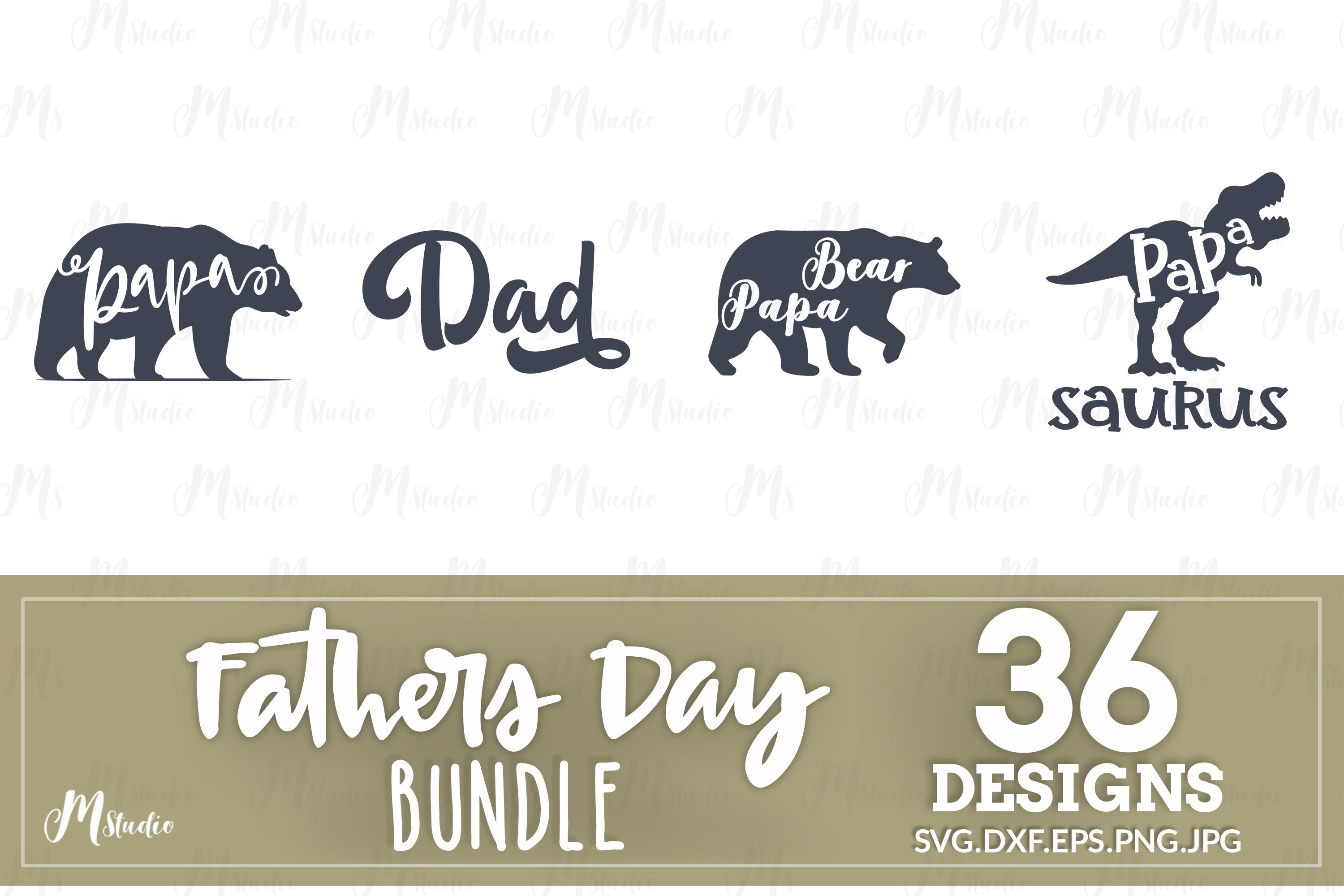 Father's Day SVG Bundle example image 5