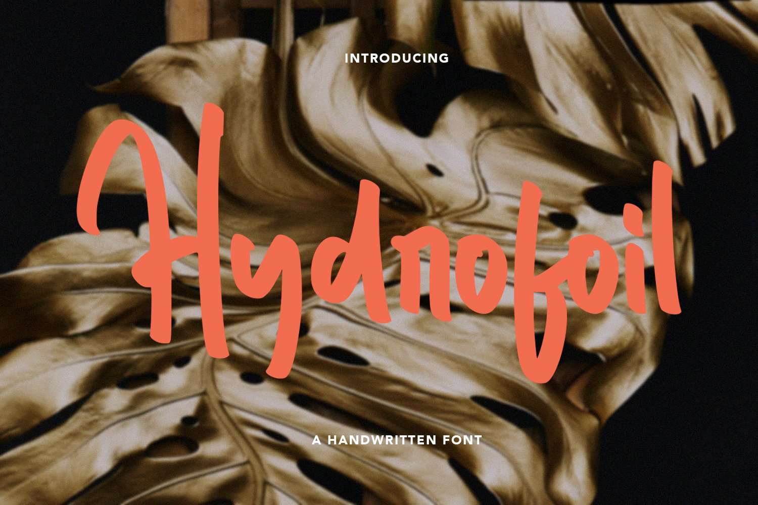 Hydrofoil - Handwritten Font example image 1