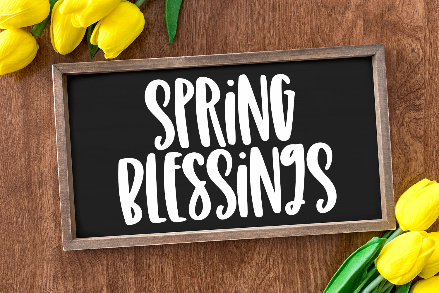 Spring Days - A Quirky Hand-Lettered Font example image 2