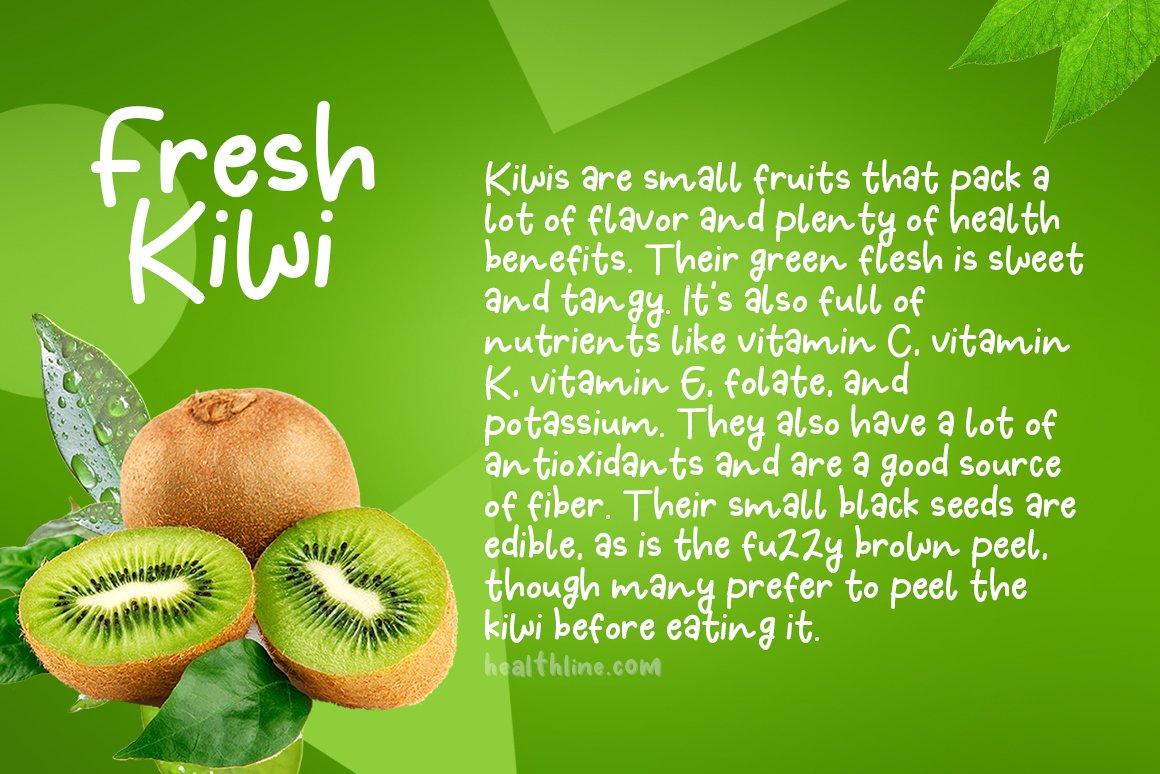 Fresh Kiwi example image 2