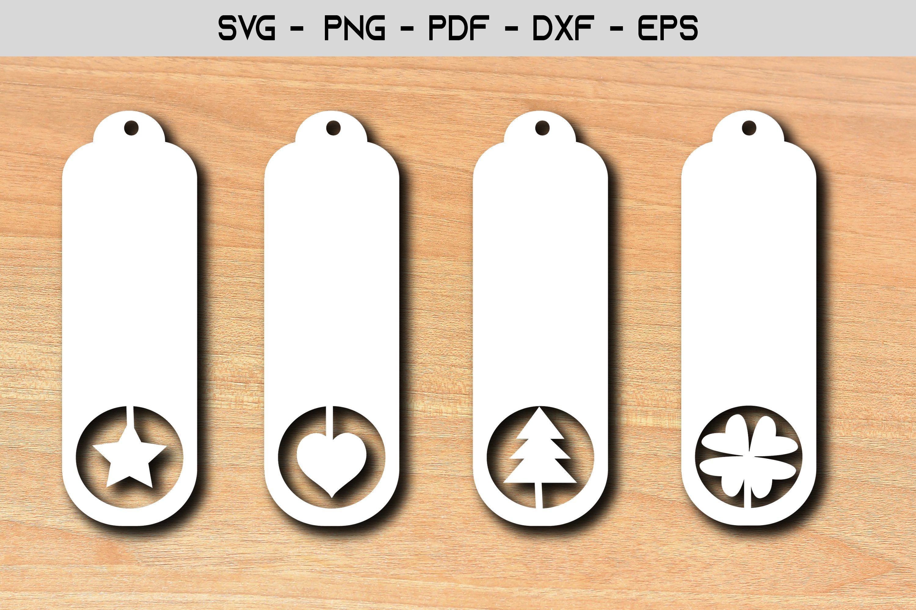 Paper cut Tags Template SVG Design example image 1