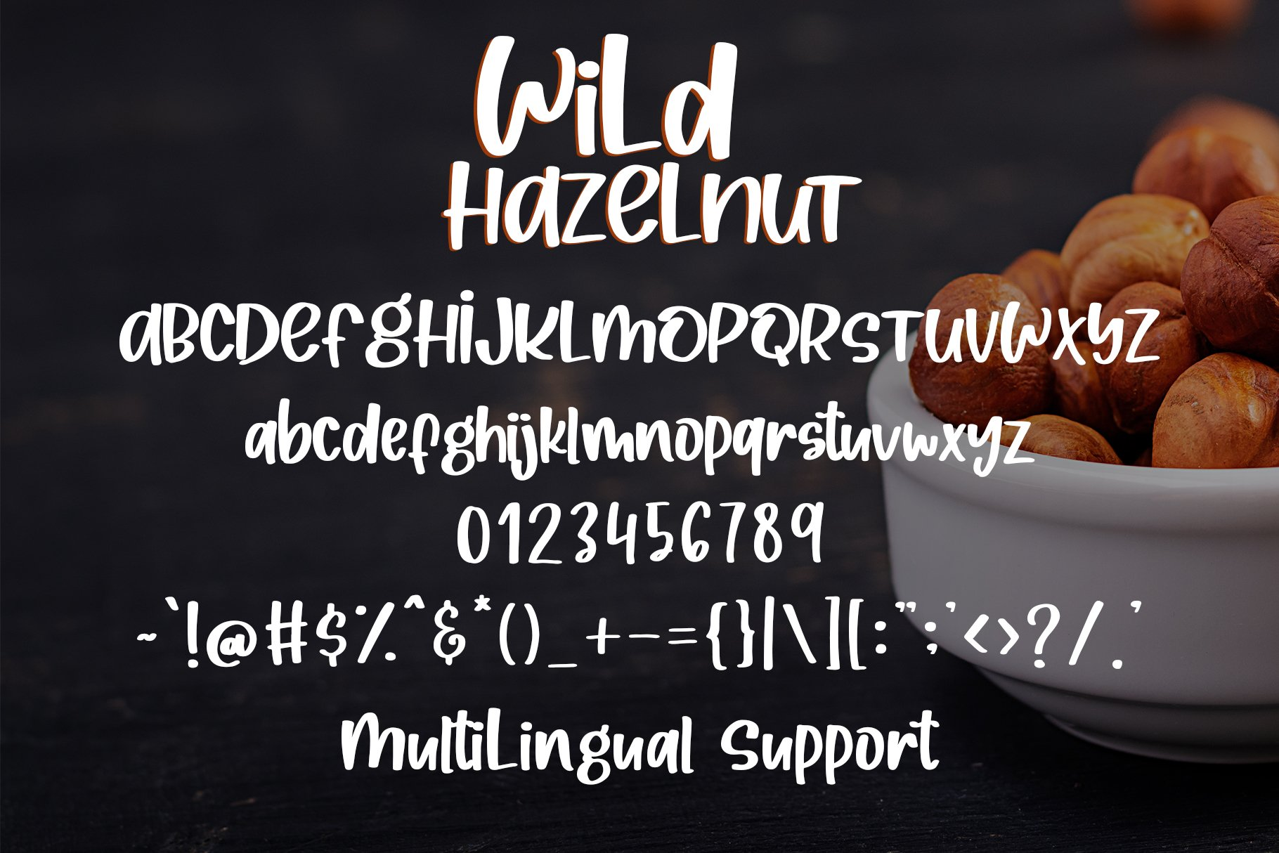 Wild Hazelnut - Handwritten Font example image 6
