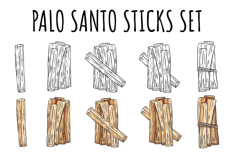 Palo Santo Sticks Set example image 1