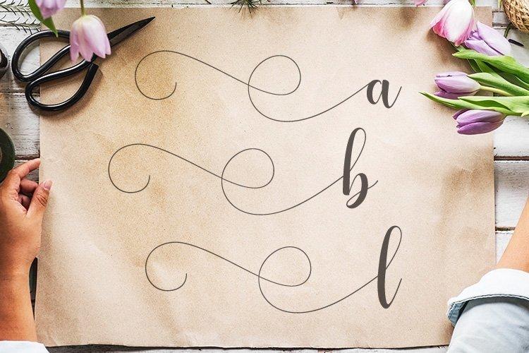 Web Font Alyshia Script example image 4