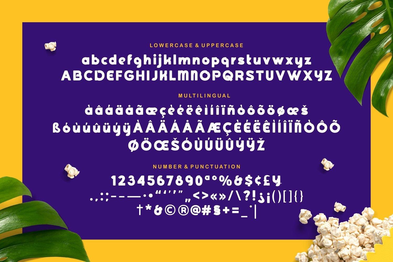 Goshbumb - Modern Playful Typeface example image 5