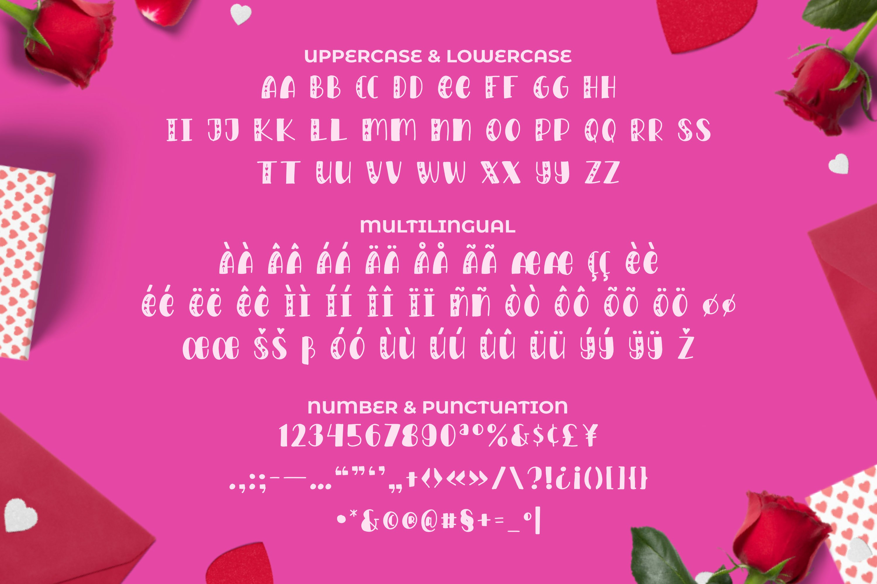 LOVEYOU Font example image 3