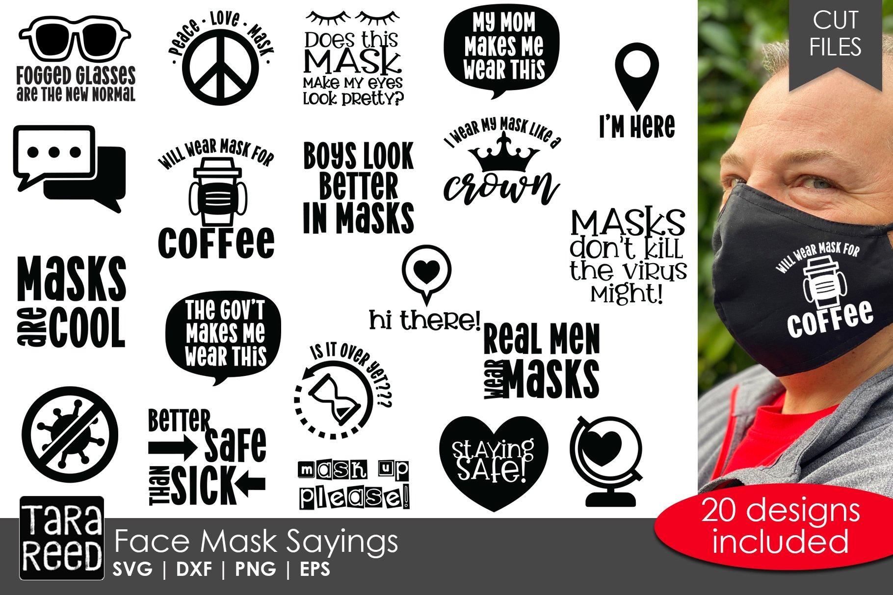 Face Mask Sayings Svg And Cut Files For Crafters 738104 Cut Files Design Bundles