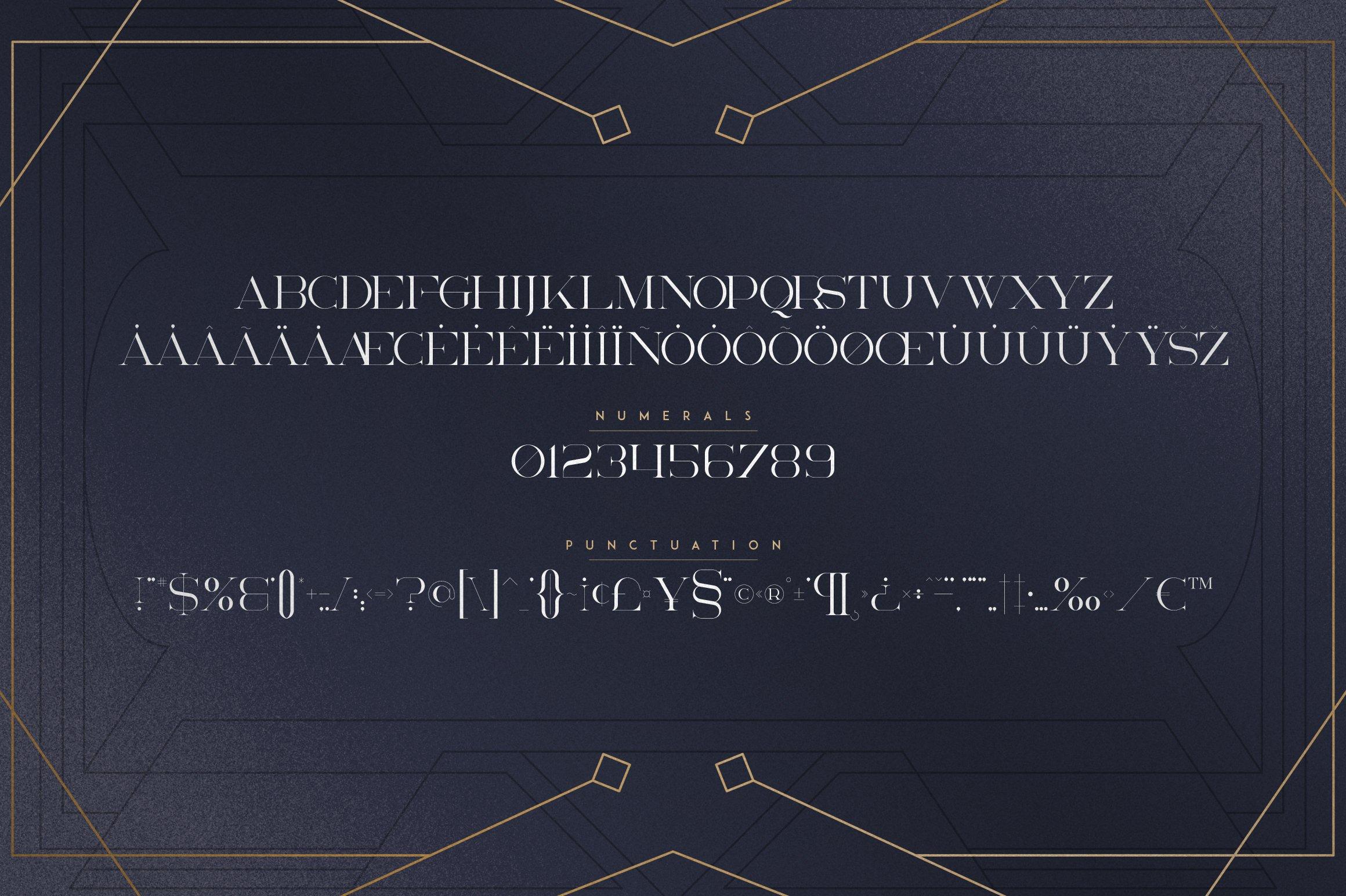 Akros - Art Deco Serif Extras example image 11