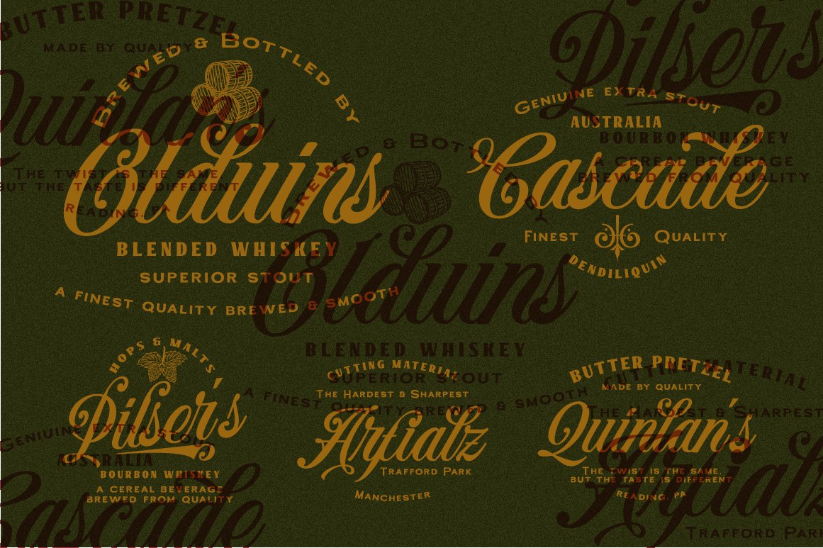 Benford Font Collections with Extras example image 6