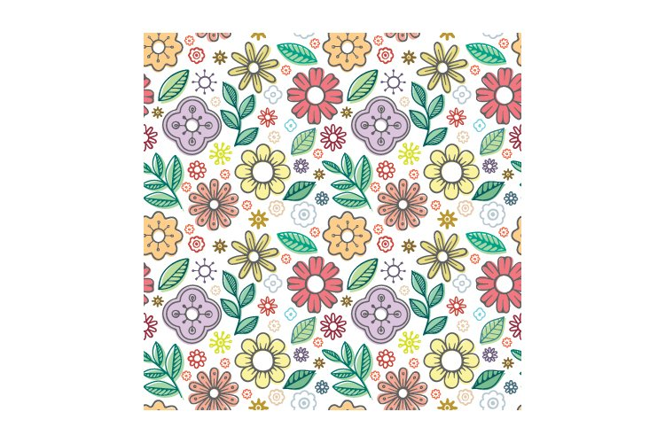 Floral seamless pattern. Part 2 example image 2