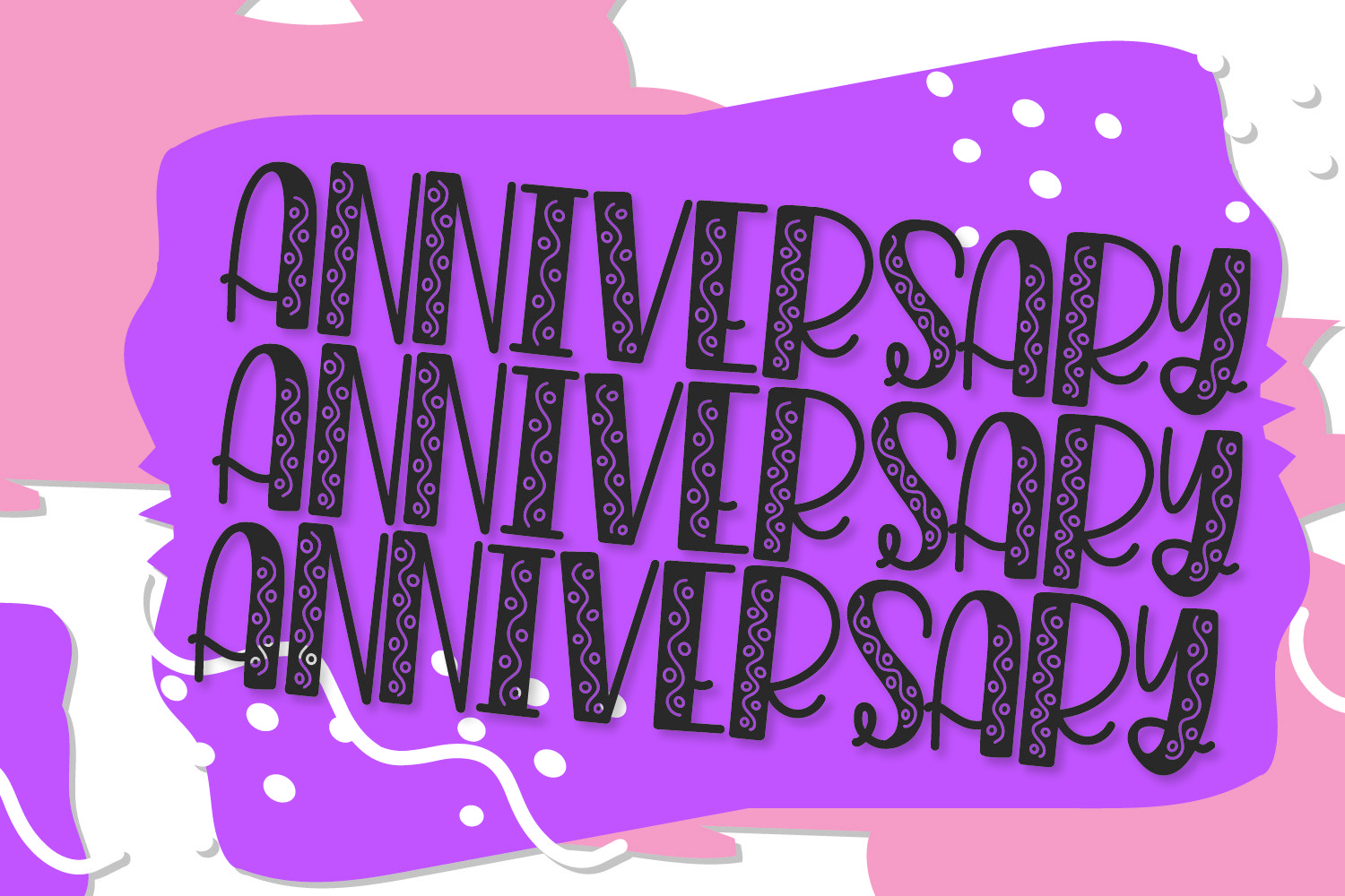 Angsty - A Party Font! example image 6