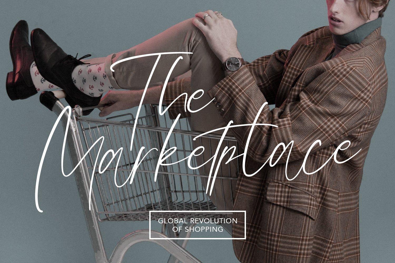 Olioster Elegant Fashion Script Font example image 3