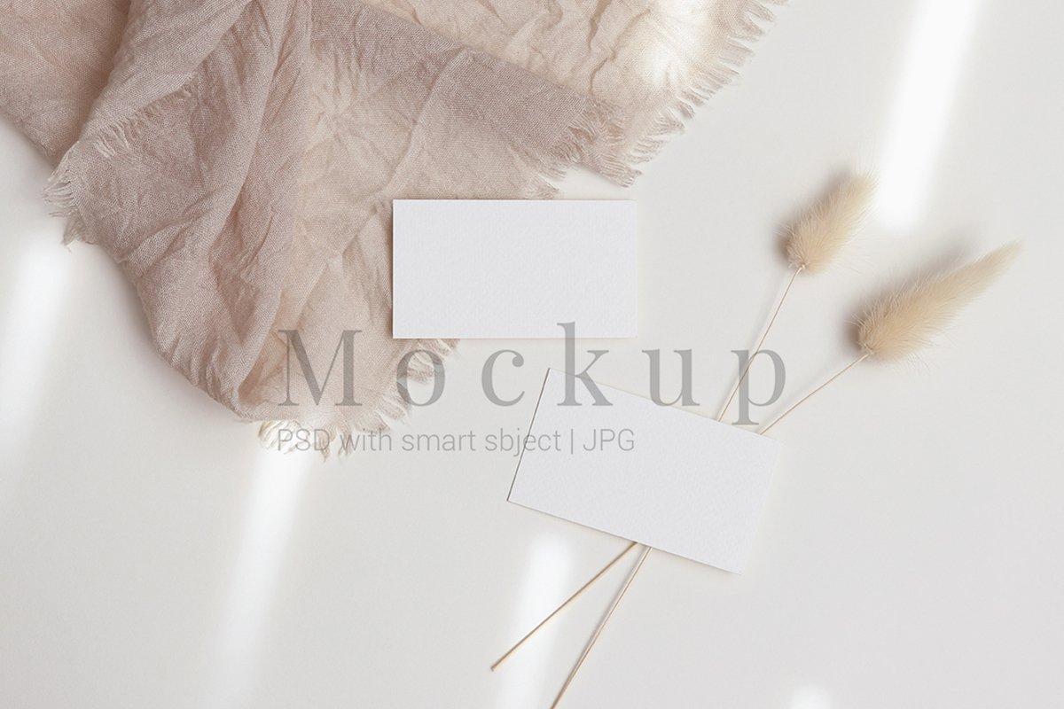 Card Mockup,Business Card Mockup,3.5x2 example image 1