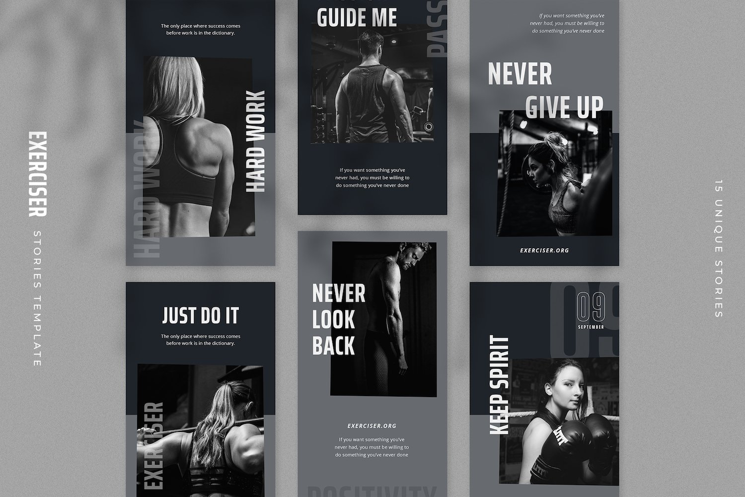 Exerciser - Gym & Fitness Instagram Stories Template example image 3