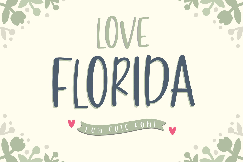 Love Florida example image 1