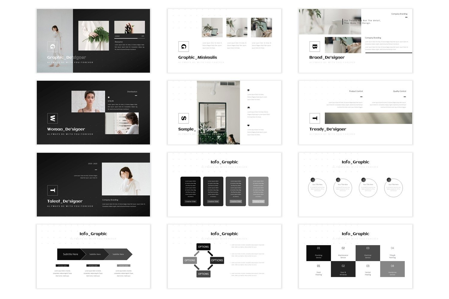 Graphicaone - Keynote Template example image 2