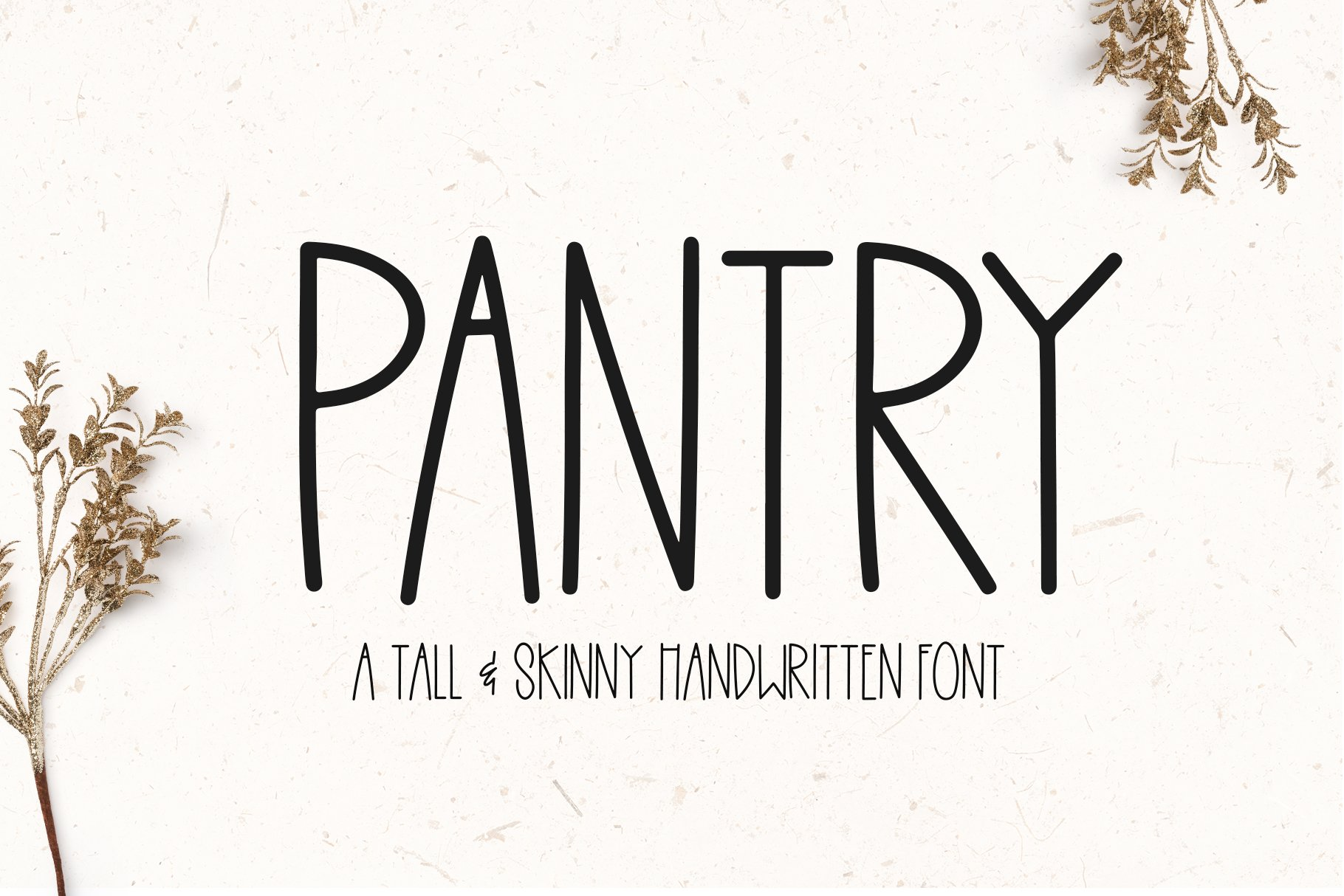 Pantry - A Tall Handwritten Font example image 1