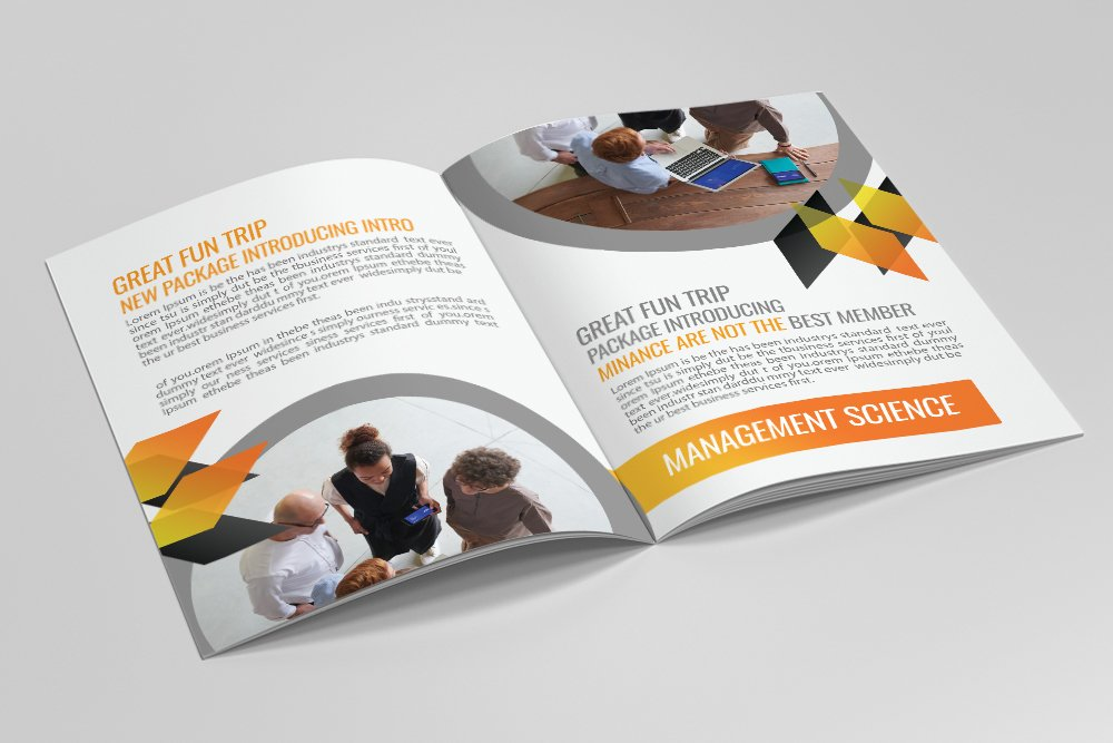 Business Portfolio Bifold Brochure 16 Pages example image 6