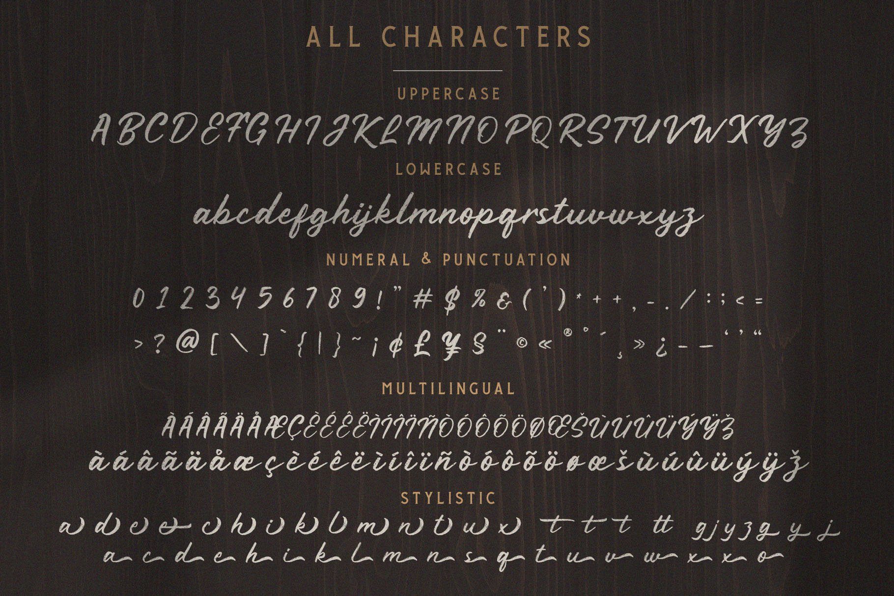 Rustyne - Rustic Script Font example image 9