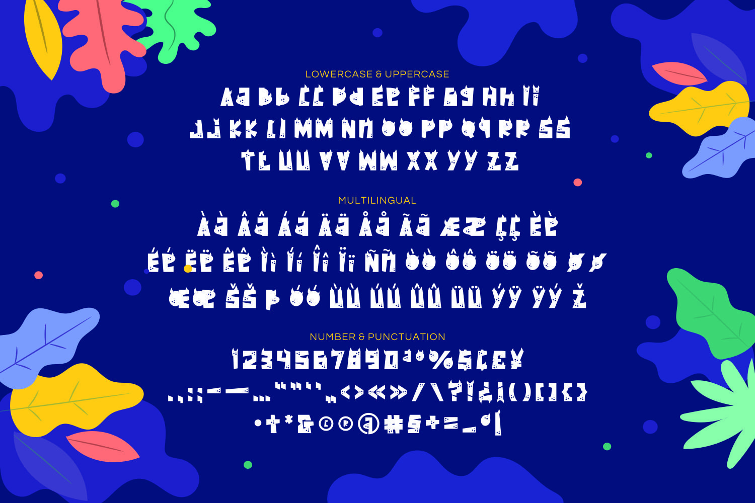 Dinohorn - Playful Display Font example image 5