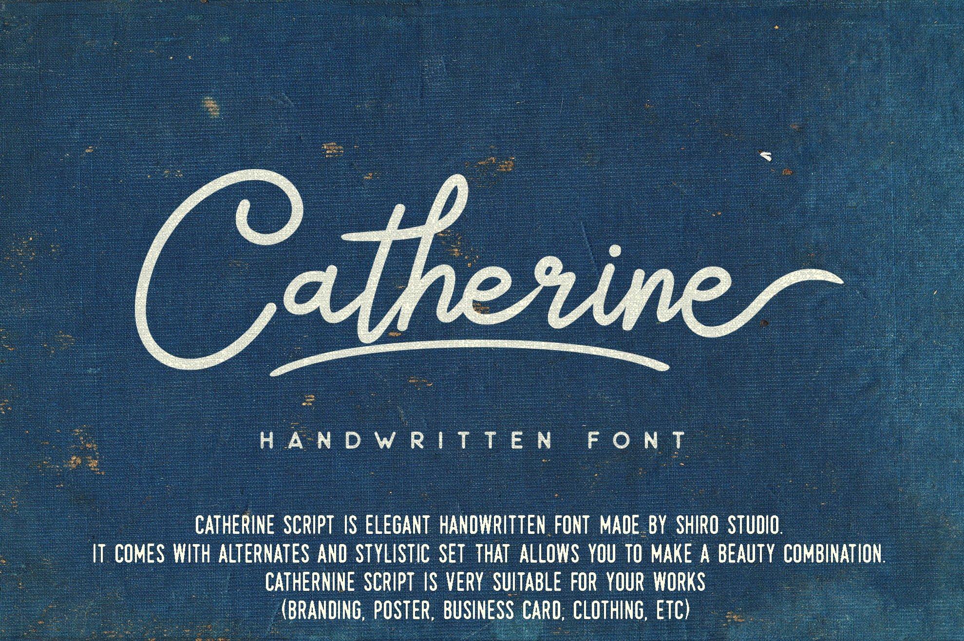 Catherine Script example image 2