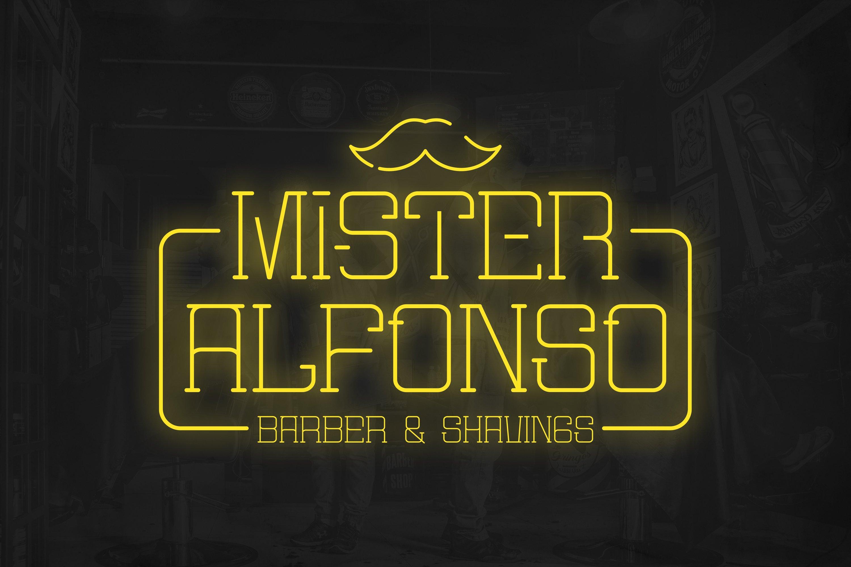 Mister Slab Font example image 3