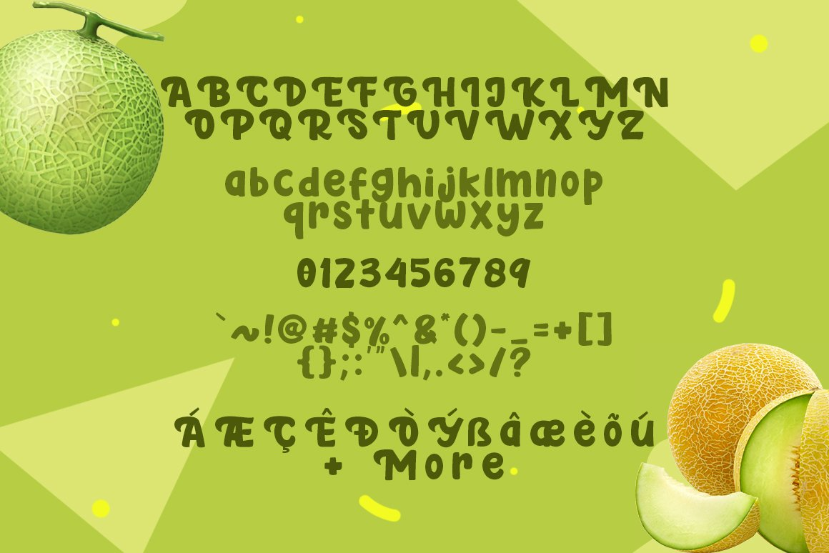 Fresh Melon example image 6