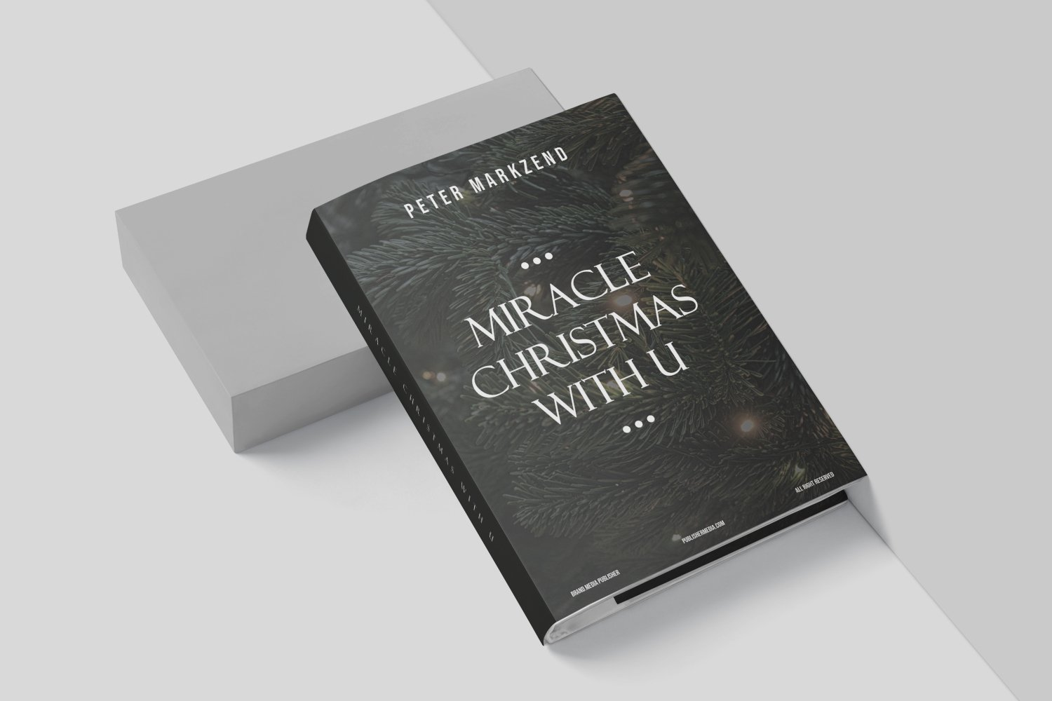 Miracles Christmas With You Book Cover example image 4