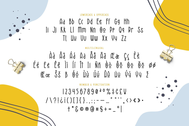 Horizon Display Font example image 3