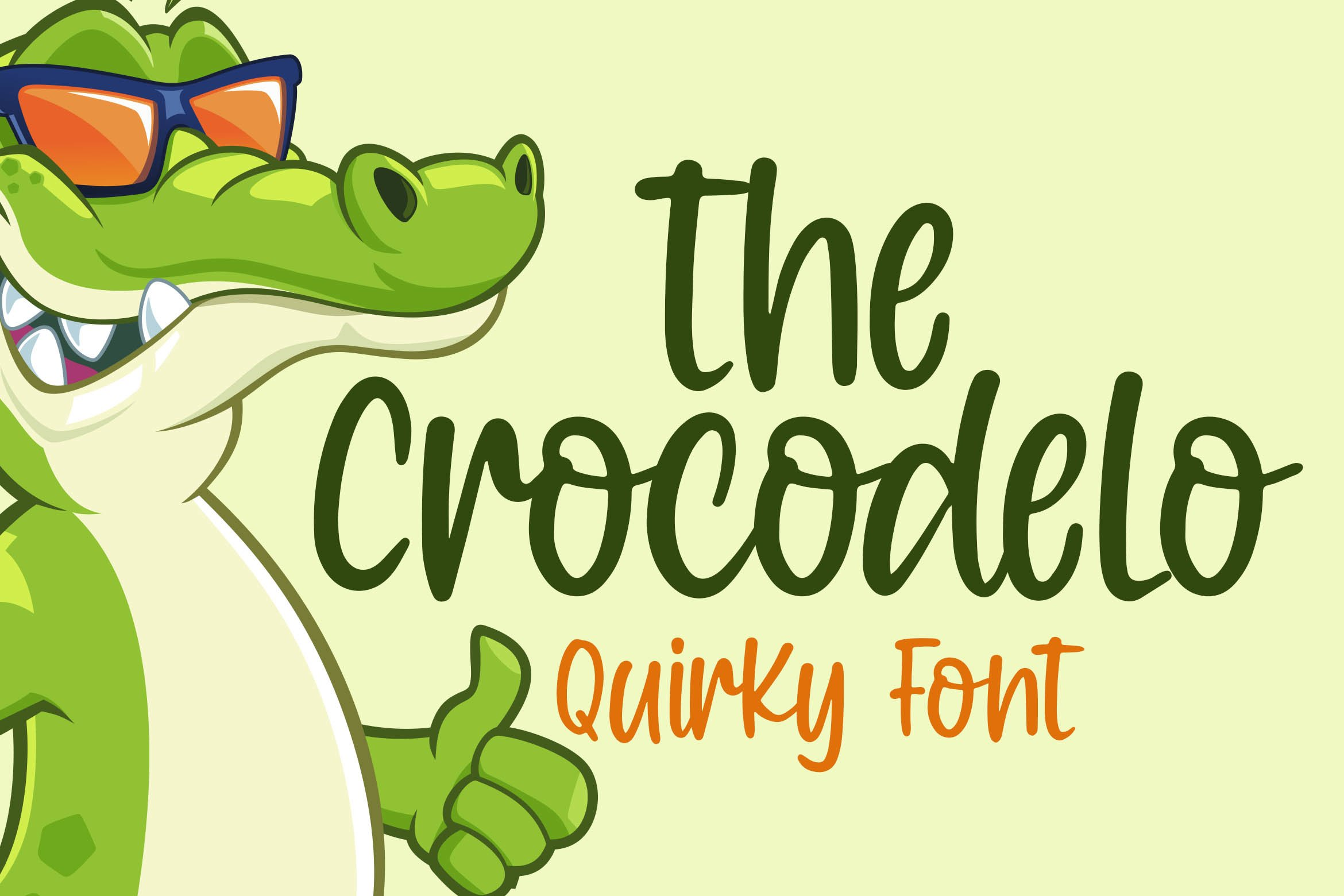 QUIRKY FONT COLLECTION example image 9