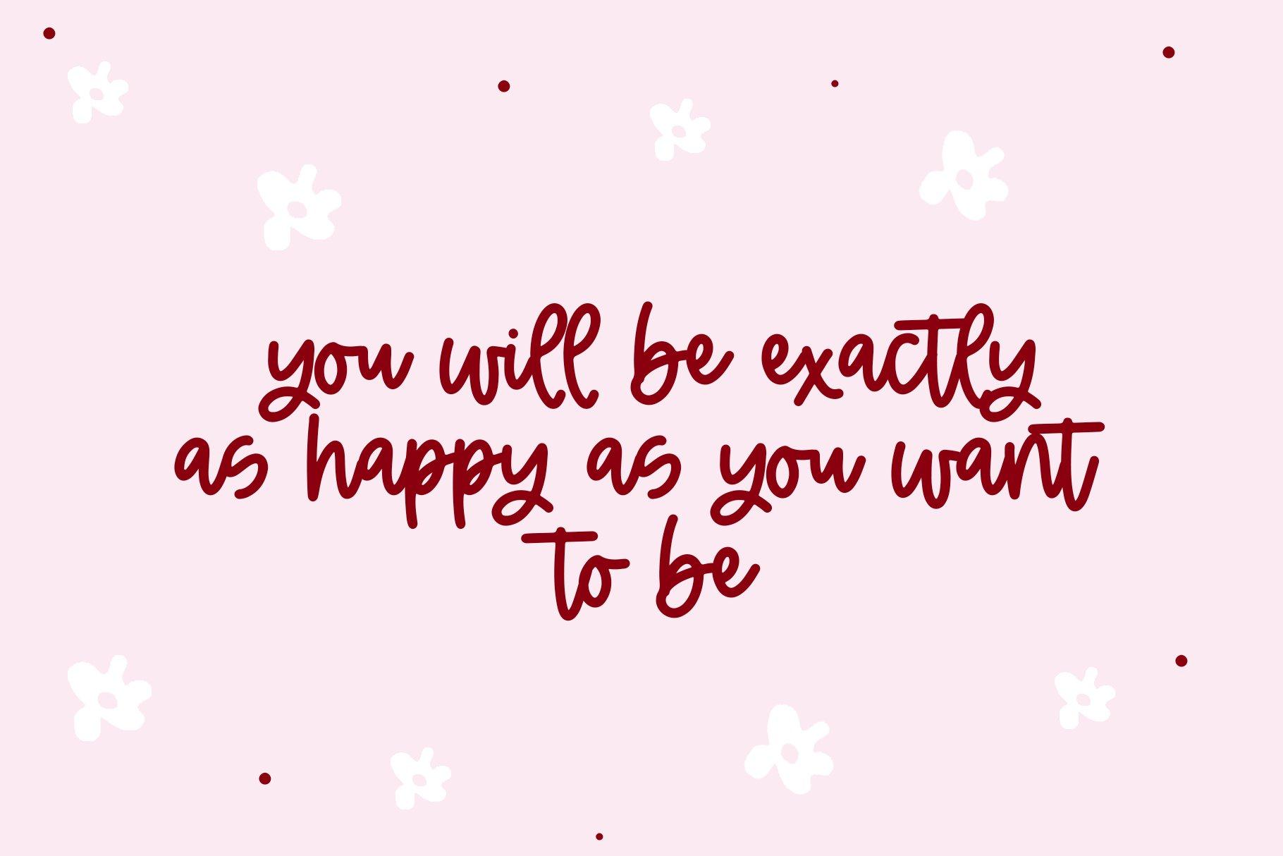 Cherry Blossom - A Handwritten Script Font example image 6