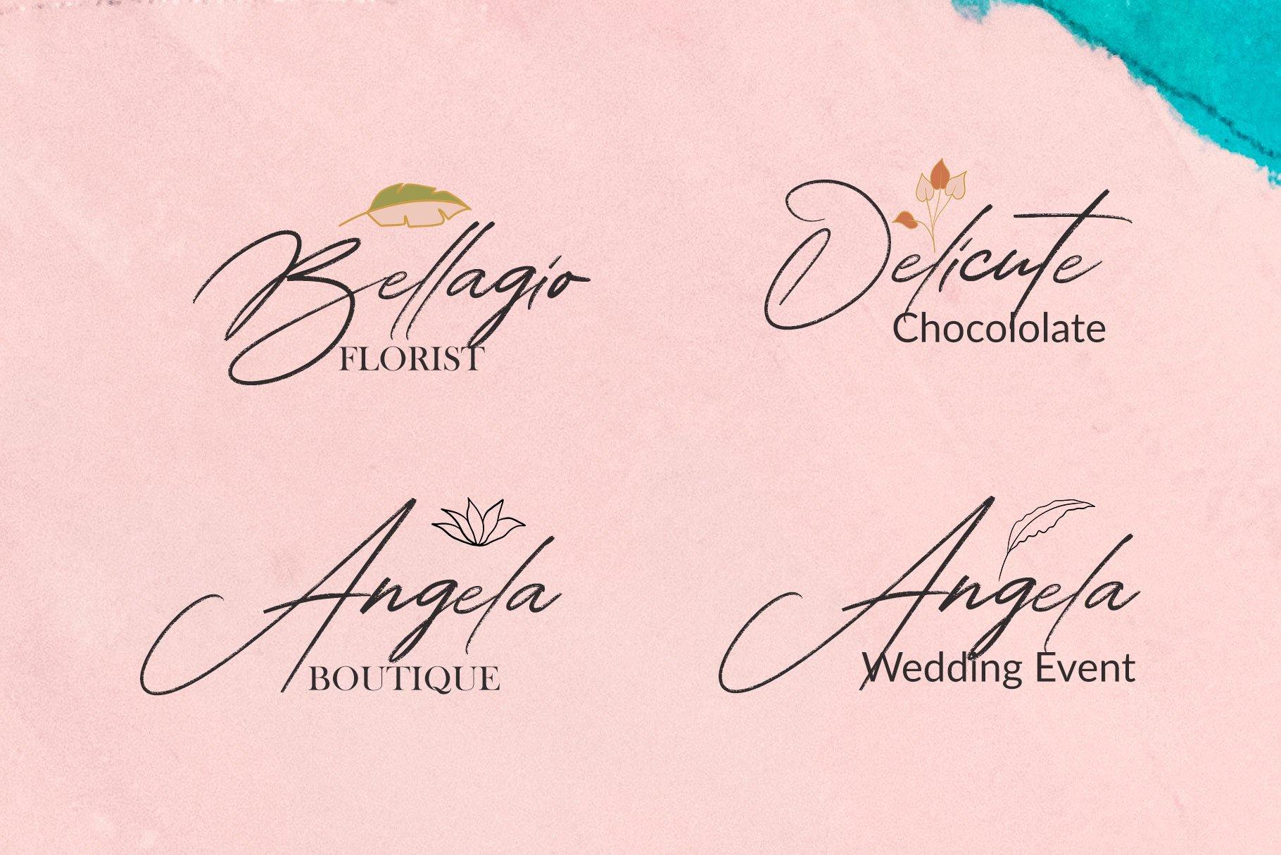 Alathena Signature Font example image 7