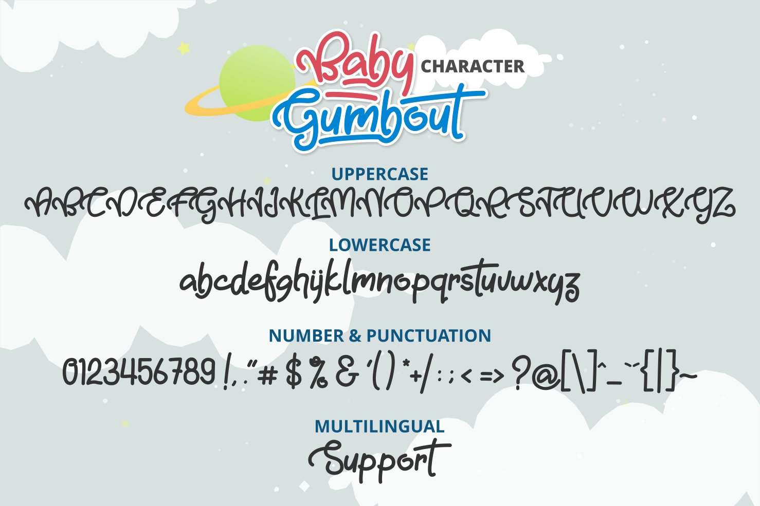Baby Gumbout example image 2