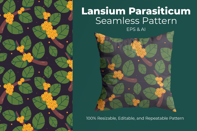 Lansium Parasiticum - Seamless Pattern example image 1