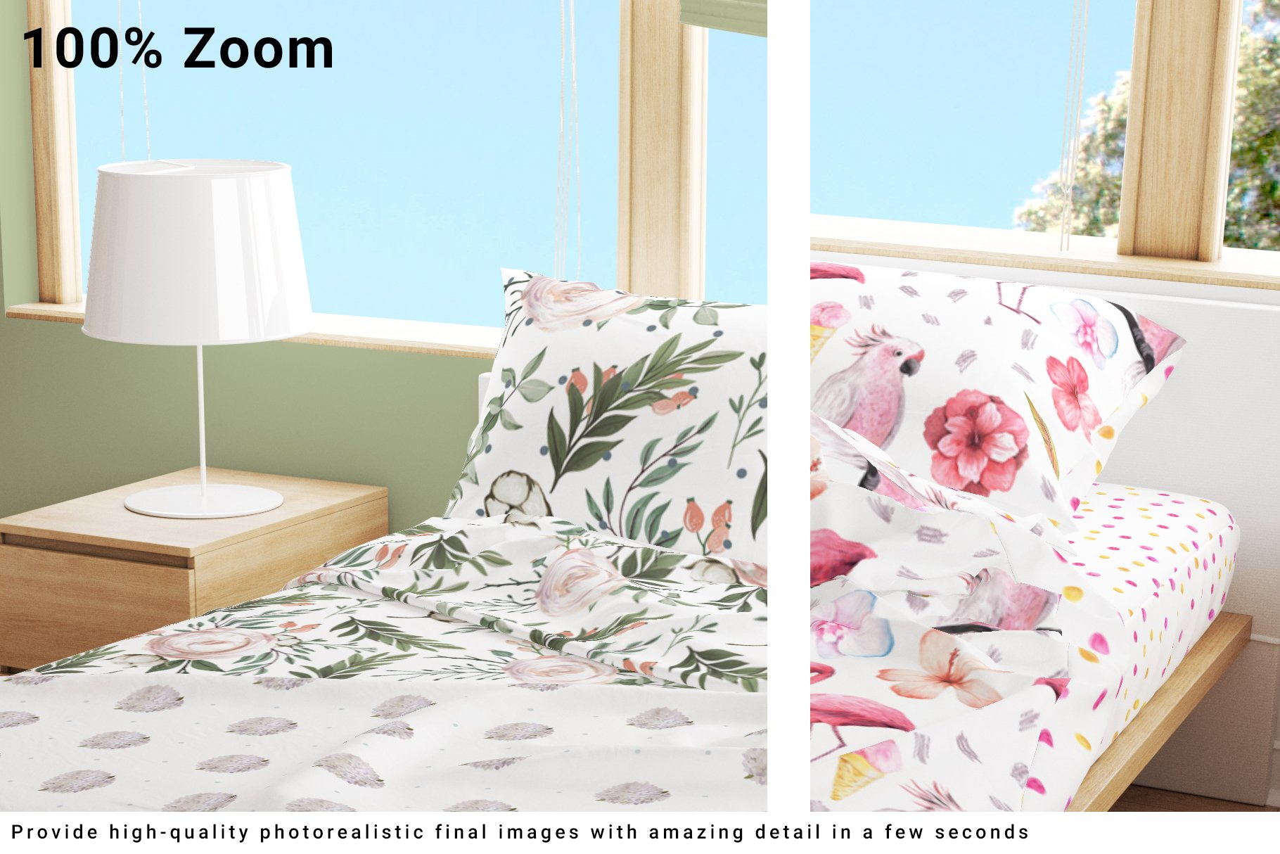 Bedroom Set - Bedding & Throw Pillow example image 8