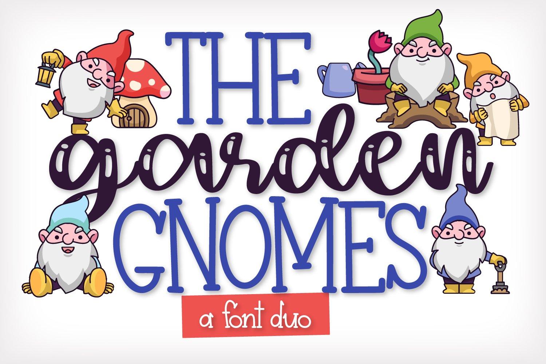 The Garden Gnomes - A Script & Print Duo example image 1
