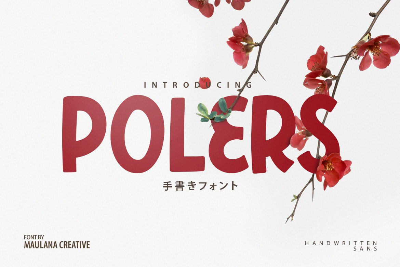 Polers - Sans Serif Font example image 1