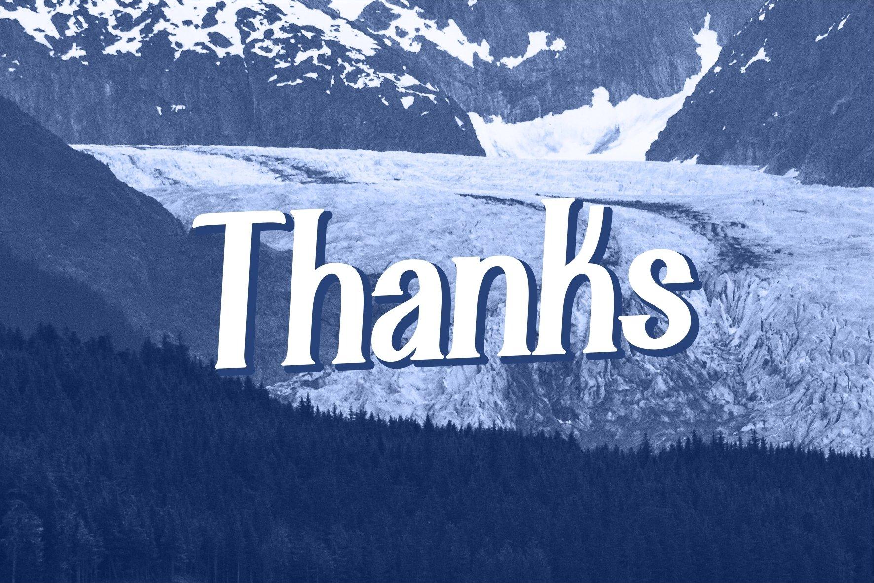 Alaska Typeface example image 7