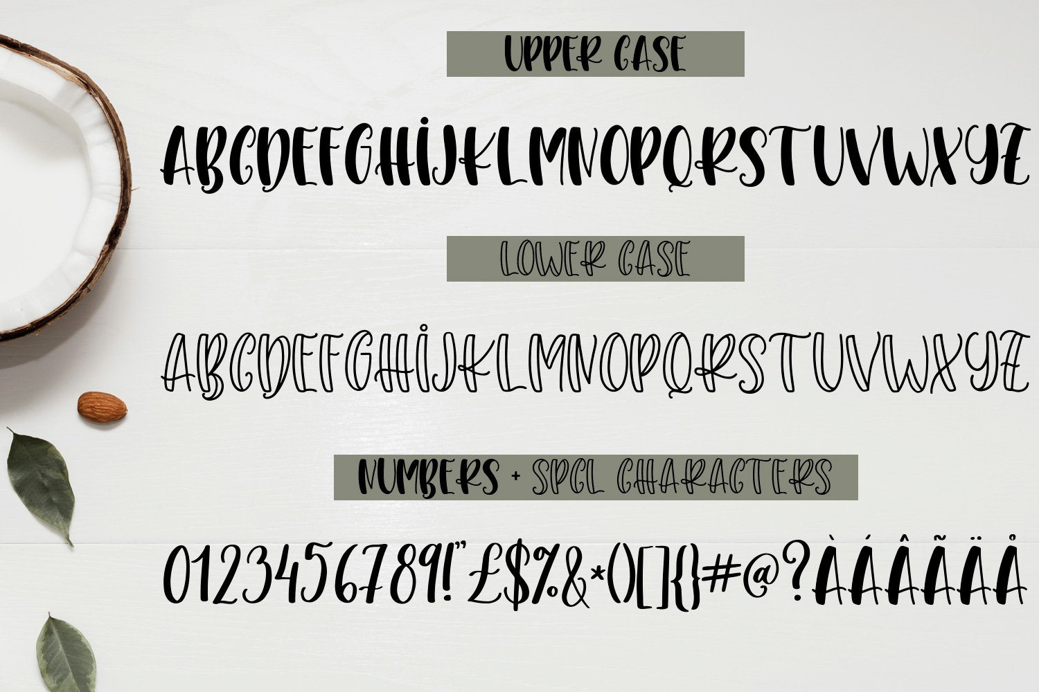 Think Twice - A font duo with doodles example image 2