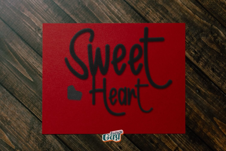 Sweet Romantic Typeface example image 8