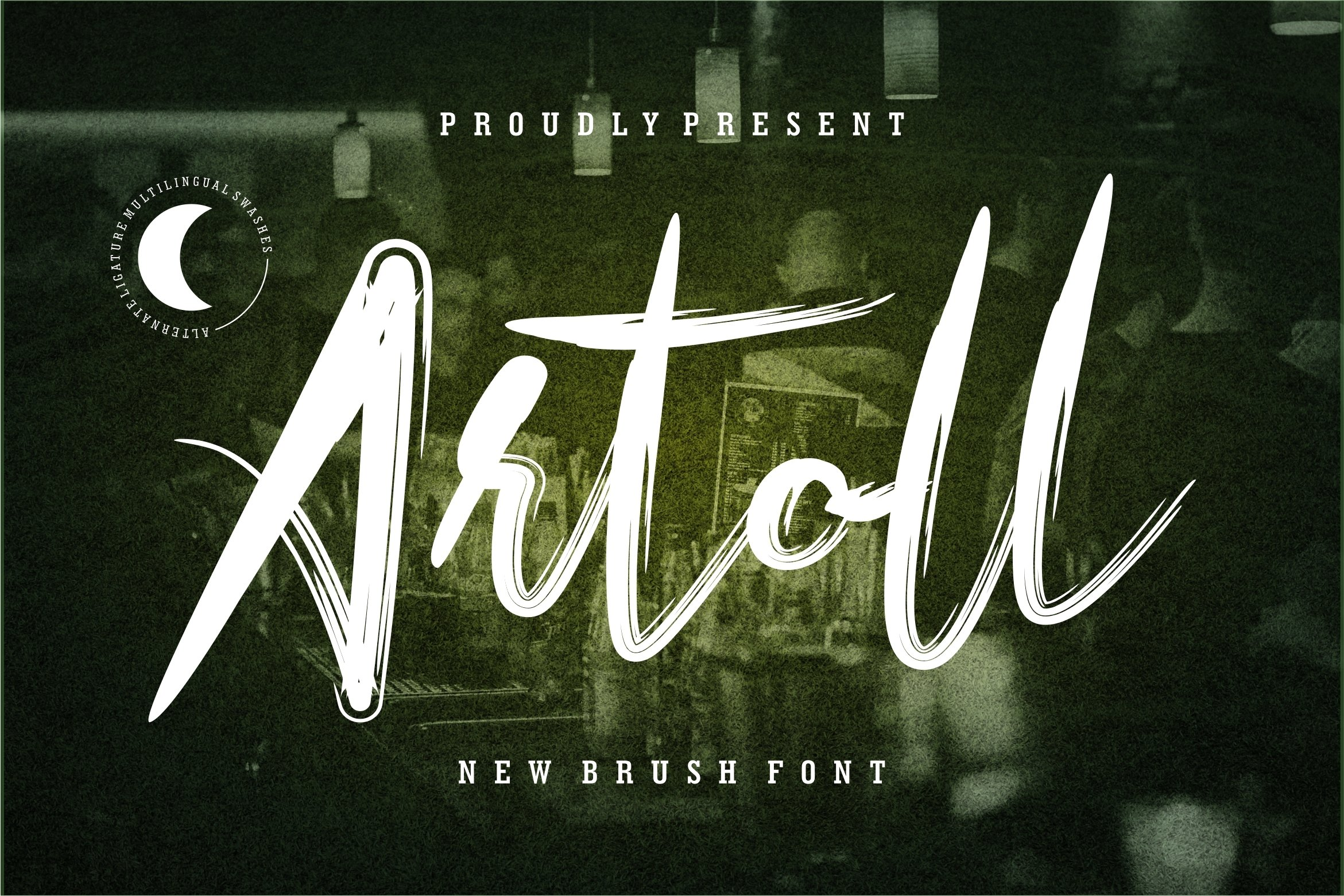 Artoll - New Brush Font example image 1
