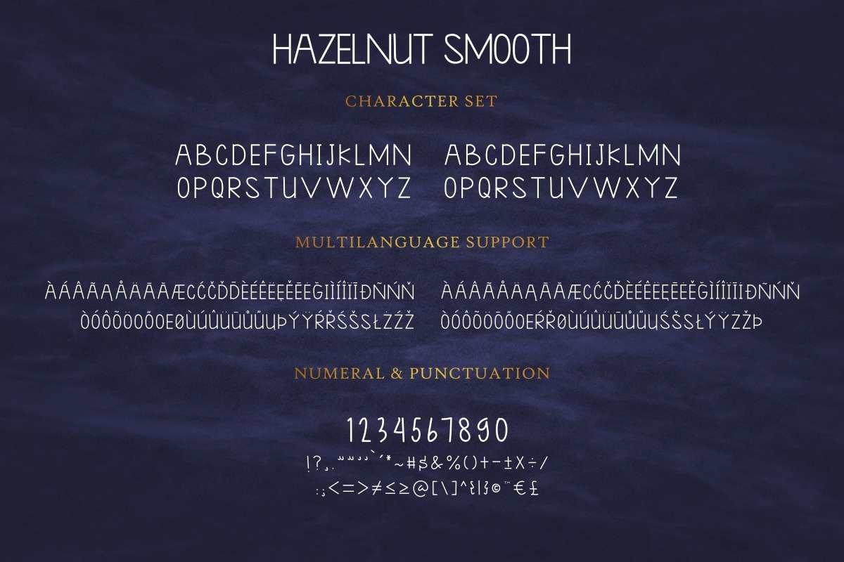Hazelnut smooth example image 8