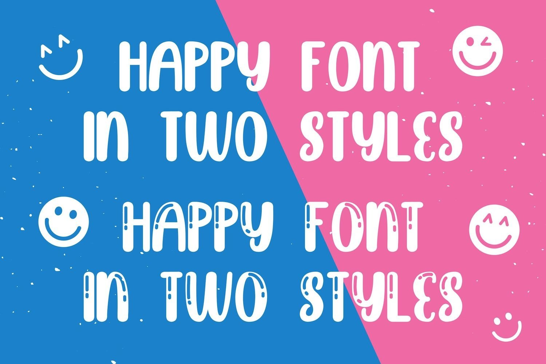 Brightly Crush - Playful Typeface example image 12