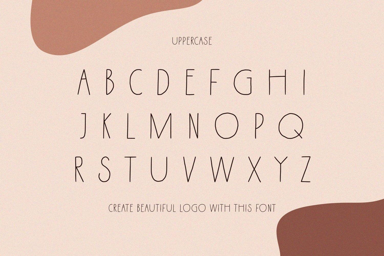 Kenzira - A Hand Drawn Art Deco Font example image 5