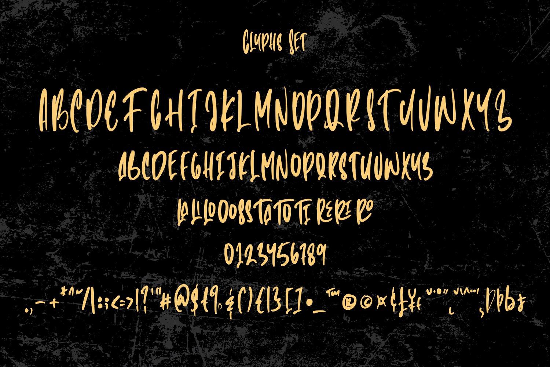 Millionaire - Handwritten Font example image 4