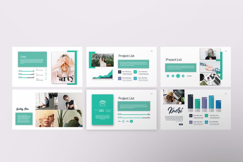 Kaori Business Google Slide example image 4