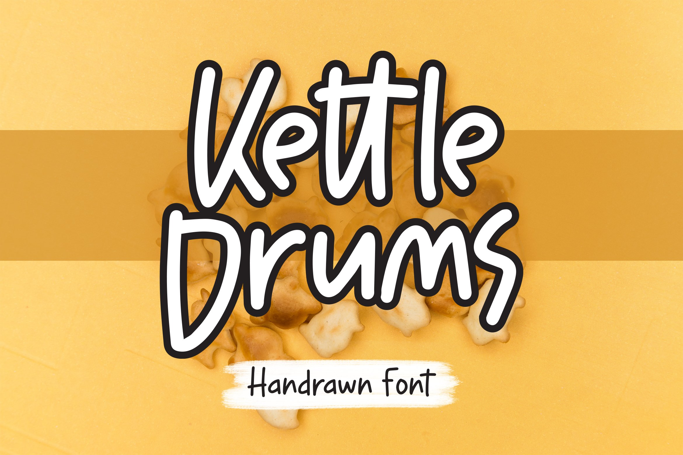 Kettledrums - Handrawn Font example image 1