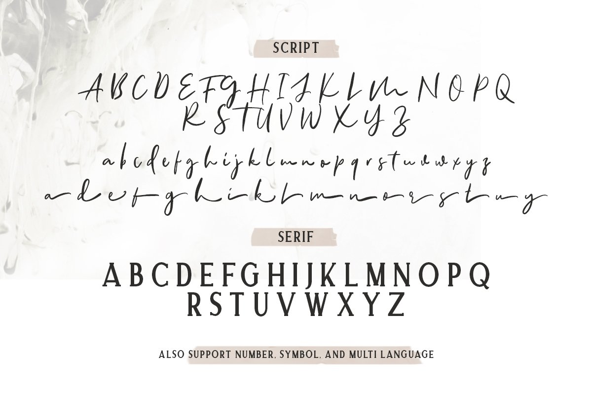 Allison Style - Font Duo example image 3