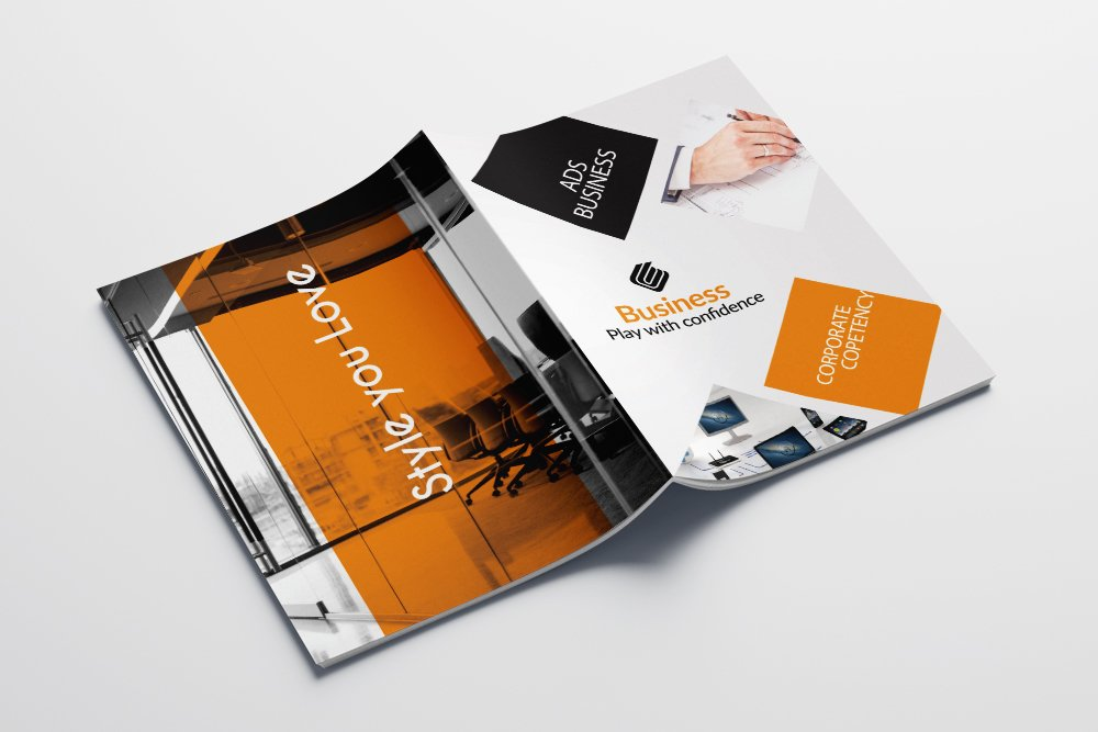 Business Catalogue Brochure 16 Pages example image 2