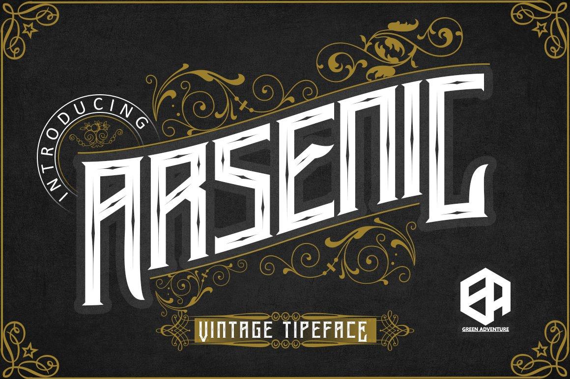 Arsenic - Vintage Typeface example image 1
